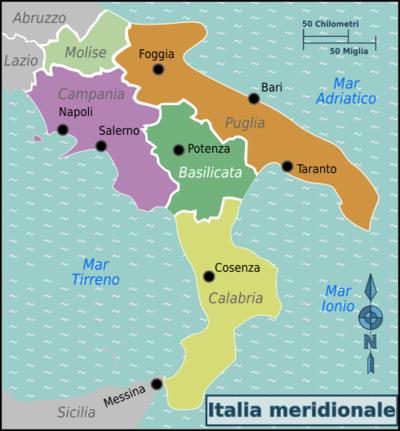 Cartina Politica Del Sud Italia.Ripartiamo Dal Sud Di Tonino Perna